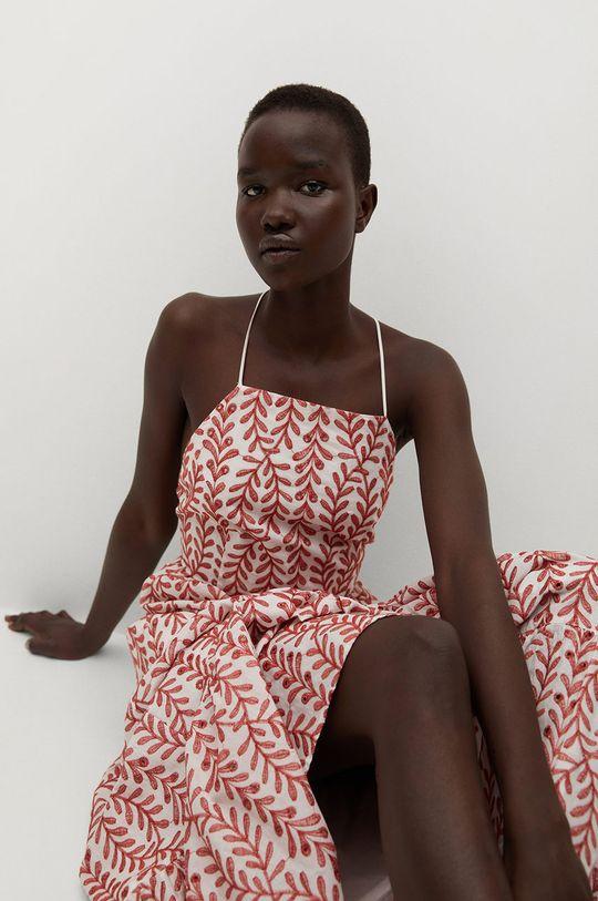 czerwony Mango - Sukienka SERENITY Damski
