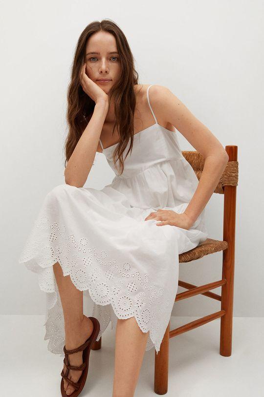 biały Mango - Sukienka CECI Damski