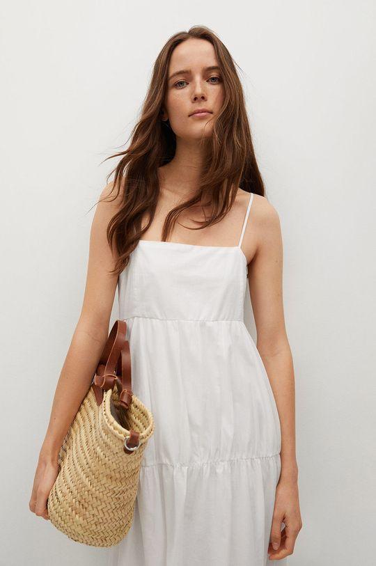 biały Mango - Sukienka CECI