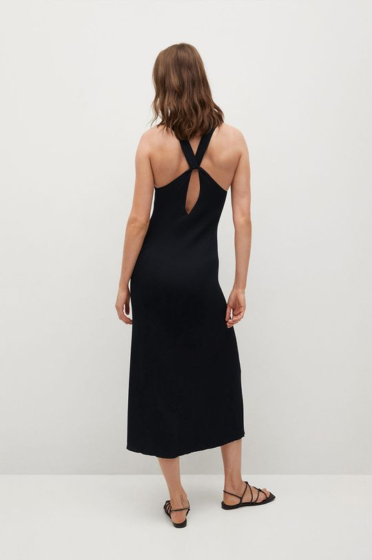 Mango - Sukienka SUAU czarny