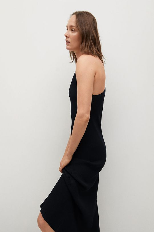 czarny Mango - Sukienka SUAU