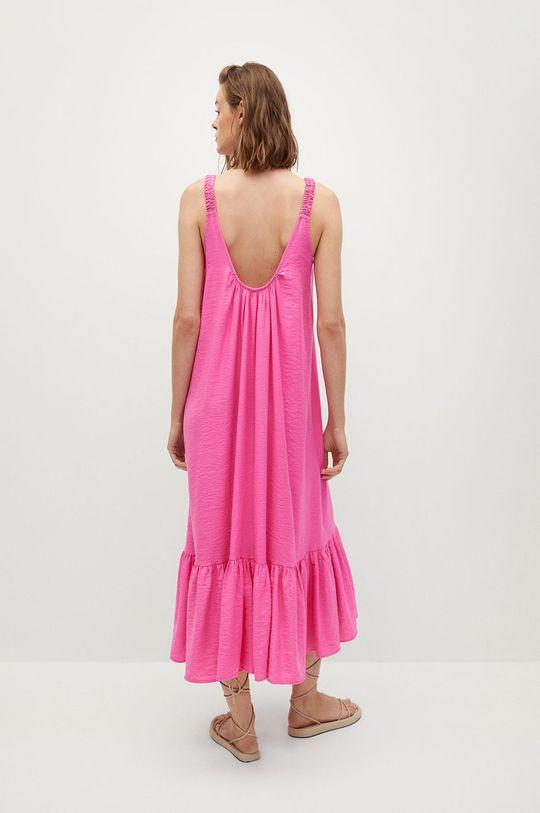 Mango - Šaty MAREA ružová