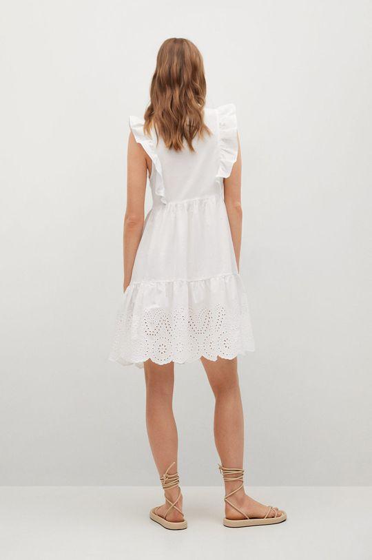 biały Mango - Sukienka ANGELO