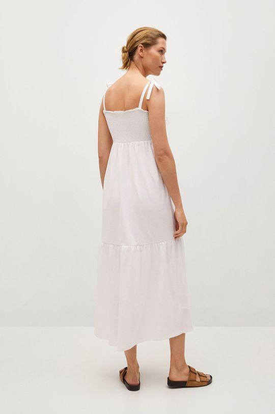 Mango - Sukienka INES biały