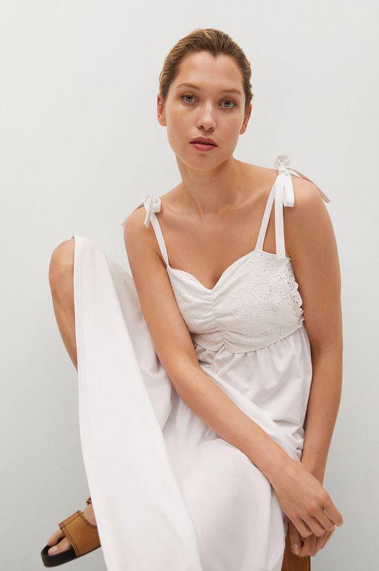 Mango - Sukienka INES 100 % Bawełna