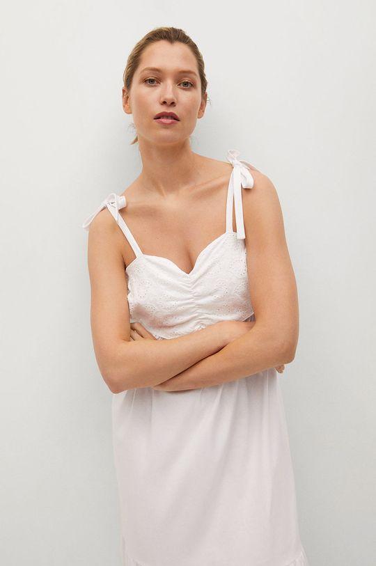 biały Mango - Sukienka INES
