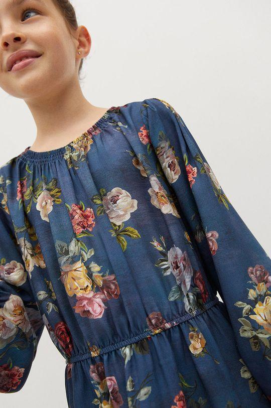 Mango Kids - Dívčí šaty ROSAS  100% Viskóza