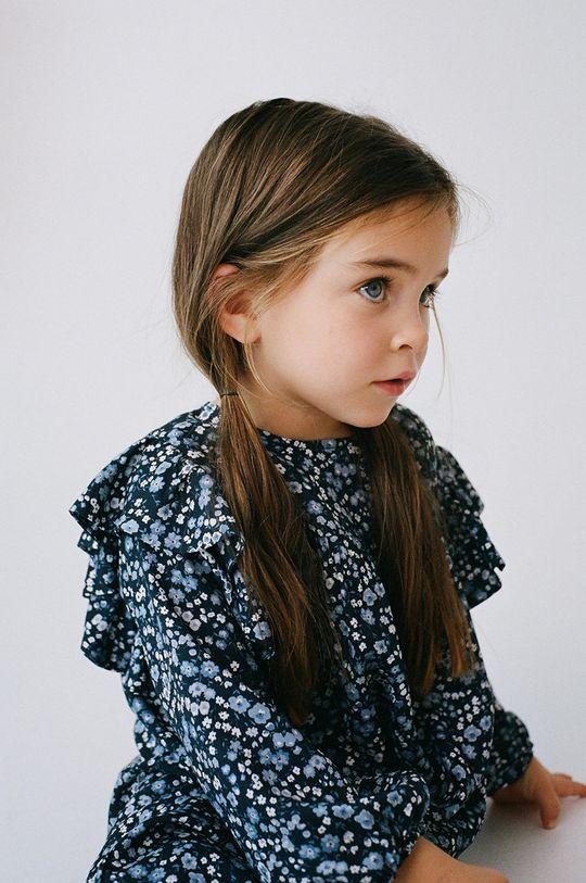 Mango Kids - Sukienka dziecięca MIRI granatowy
