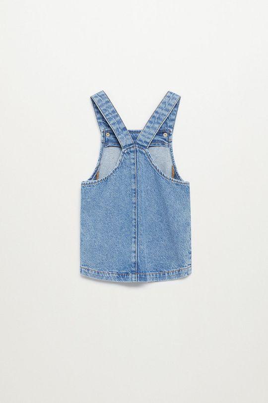 Mango Kids - Sukienka dziecięca ELVA niebieski