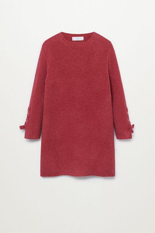 červená Mango Kids – Šaty LOUISE Dievčenský