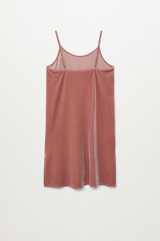 Mango Kids - Dievčenské šaty MILANO  5% Elastan, 95% Polyester