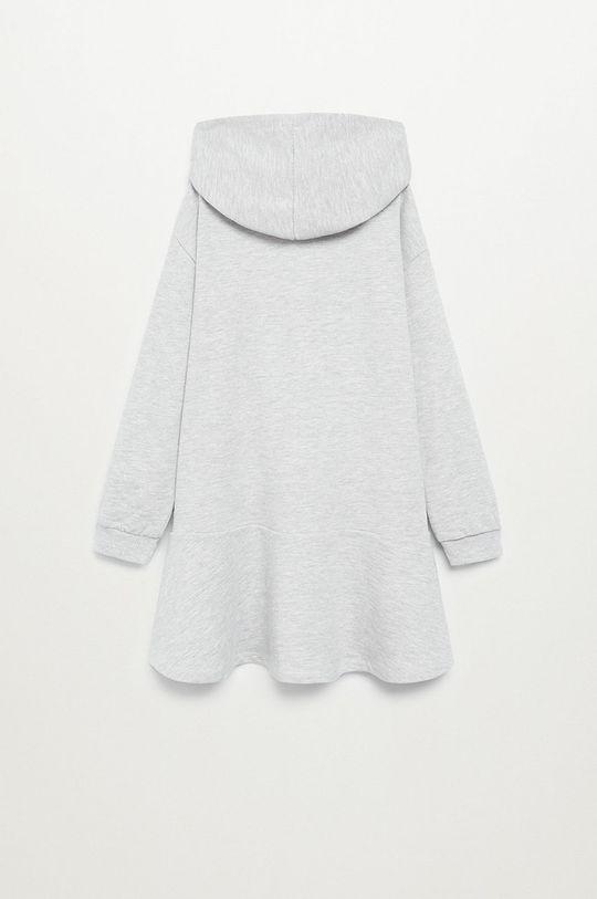 Mango Kids - Dievčenské šaty LION  4% Polyester, 96% Organická bavlna
