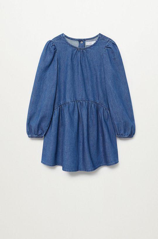 albastru Mango Kids - Rochie fete CAMILLE De fete