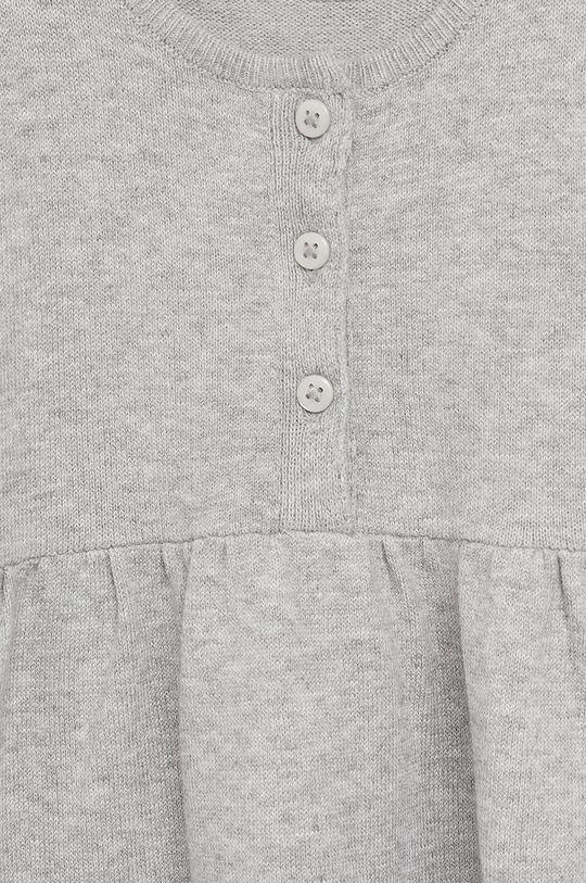 Mango Kids - Dievčenské šaty MIRIAM sivá