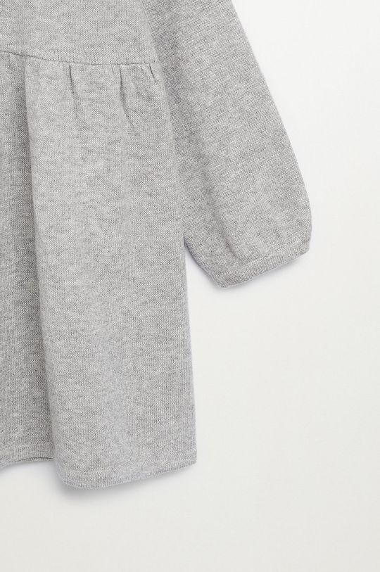 Mango Kids - Dievčenské šaty MIRIAM  30% Polyamid, 70% Organická bavlna
