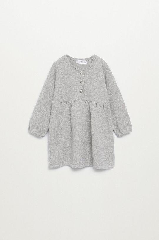 sivá Mango Kids - Dievčenské šaty MIRIAM