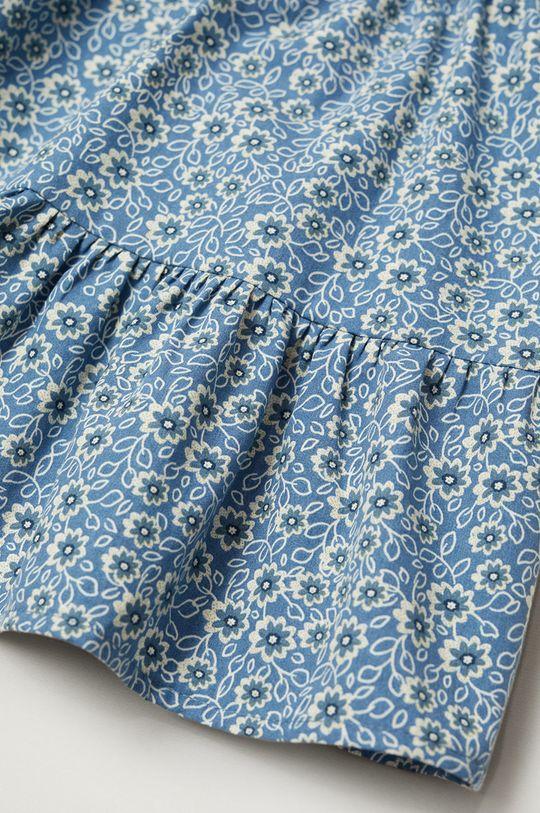 Mango Kids - Dívčí šaty VIVIAN modrá