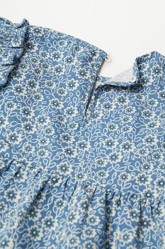 Mango Kids - Dívčí šaty VIVIAN  100% Bavlna