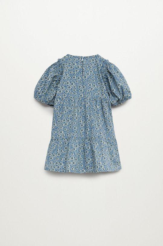 modrá Mango Kids - Dívčí šaty VIVIAN