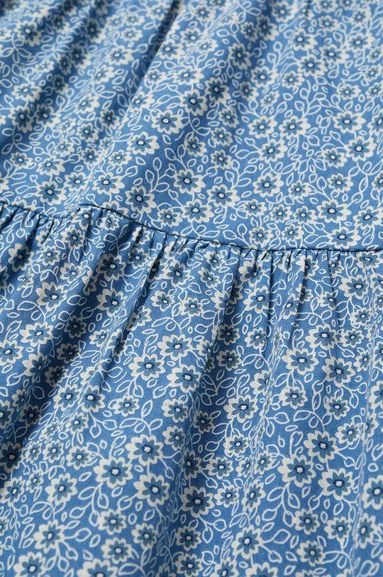 Mango Kids - Sukienka dziecięca VIVIAN niebieski