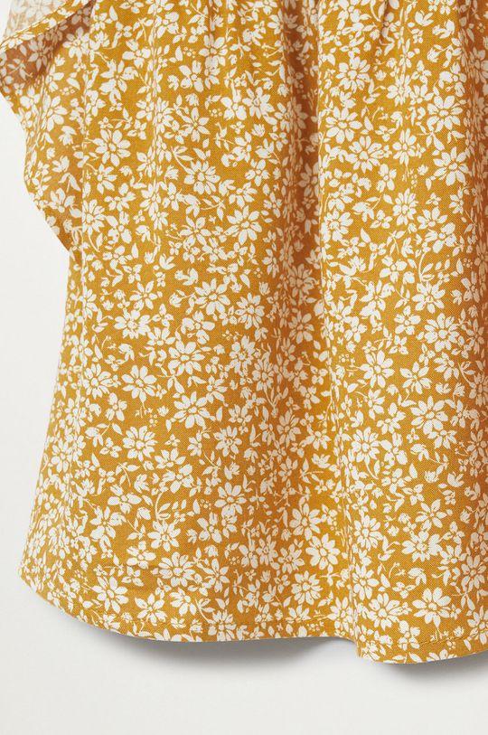 Mango Kids - Sukienka dziecięca Moss 80-110 cm 100 % Wiskoza