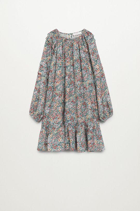 tyrkysová Mango Kids - Dívčí šaty TILDA Dívčí