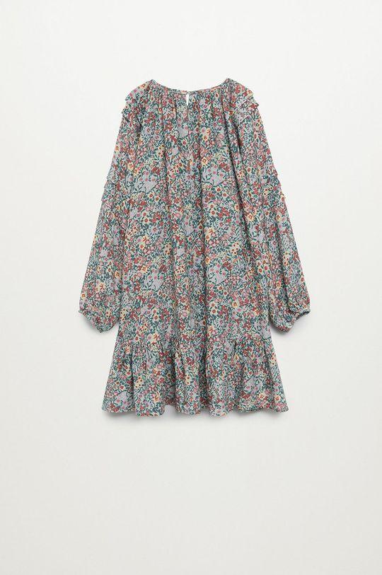 tyrkysová Mango Kids - Dívčí šaty TILDA