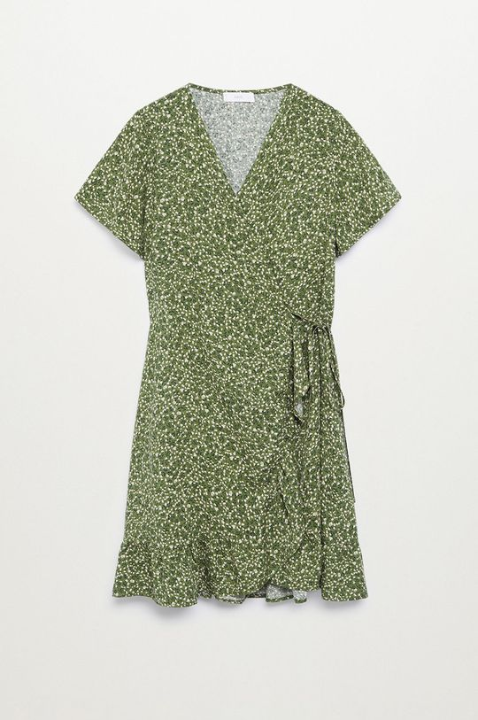 zelená Mango Kids - Dívčí šaty TAYLOR8 Dívčí