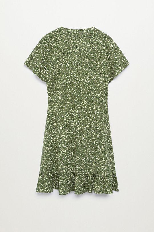 Mango Kids - Dívčí šaty TAYLOR8 zelená