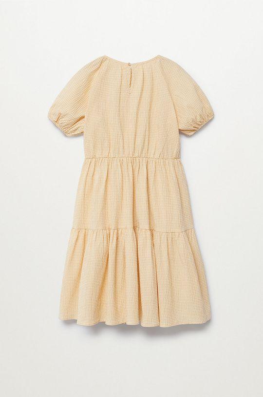 Mango Kids - Dívčí šaty OHIO žlutá
