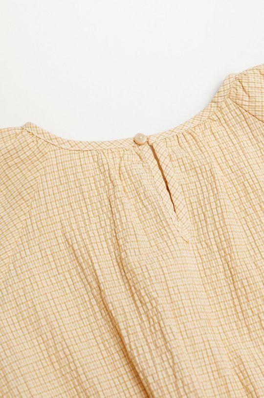 Mango Kids - Dívčí šaty OHIO  100% Bavlna