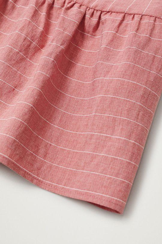 Mango Kids - Sukienka dziecięca ABRIL różowy