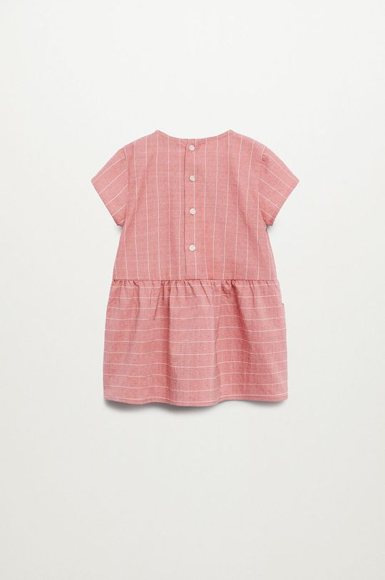 różowy Mango Kids - Sukienka dziecięca ABRIL