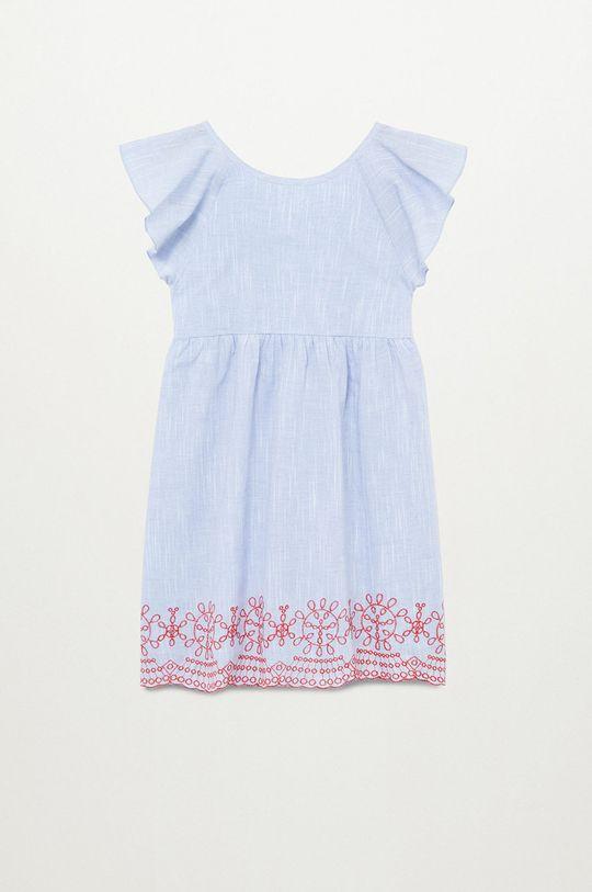 fioletowy Mango Kids - Sukienka dziecięca ALESSIA-H Dziewczęcy