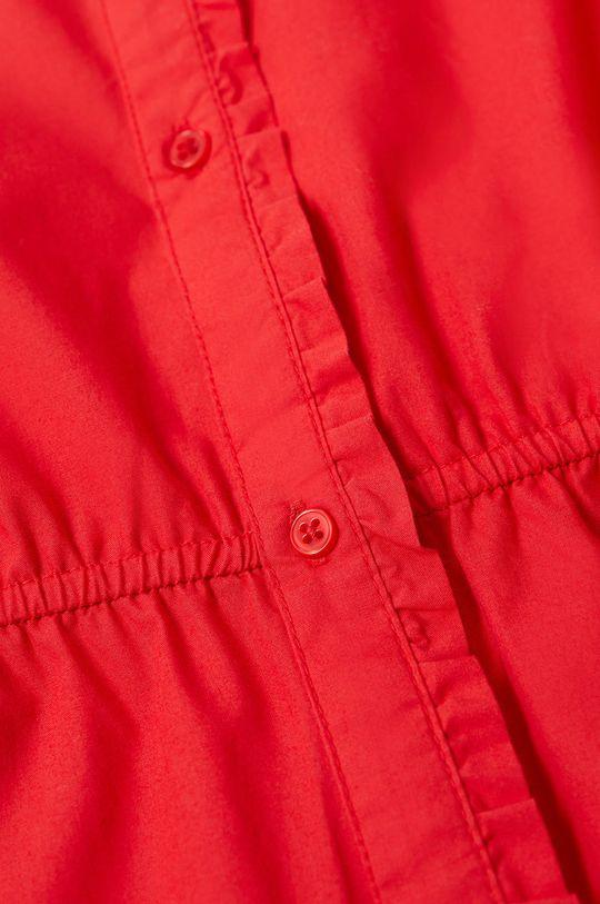 Mango Kids - Sukienka dziecięca LAST-H czerwony