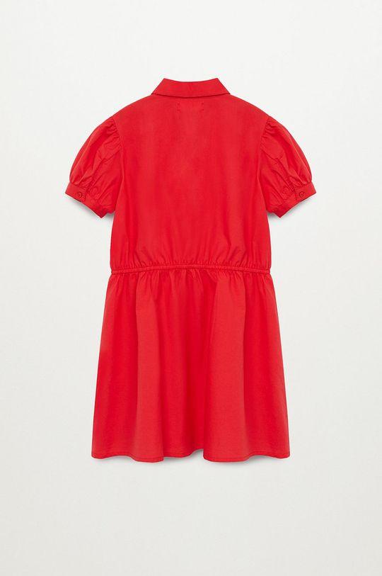 Mango Kids - Sukienka dziecięca LAST-H 100 % Bawełna