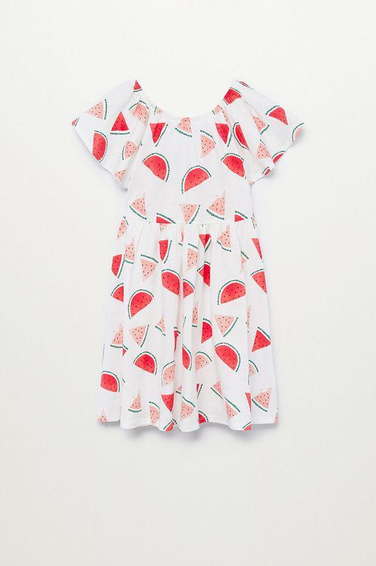 Mango Kids - Sukienka dziecięca MARTINA-H 100 % Bawełna organiczna