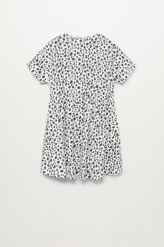 Mango Kids - Sukienka dziecięca VANESA-H 100 % Bawełna organiczna