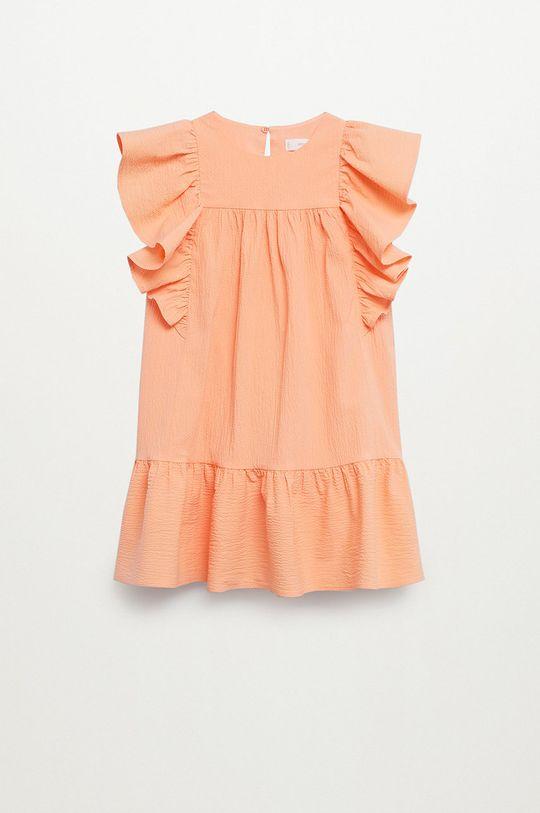 czerwony Mango Kids - Sukienka dziecięca Kathi 110-164 cm Dziewczęcy