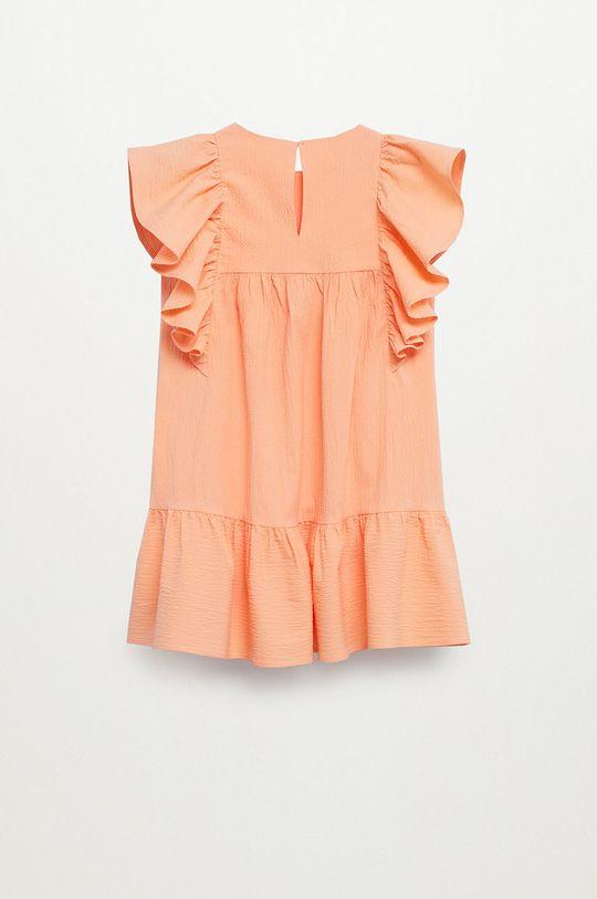 Mango Kids - Sukienka dziecięca Kathi 110-164 cm czerwony