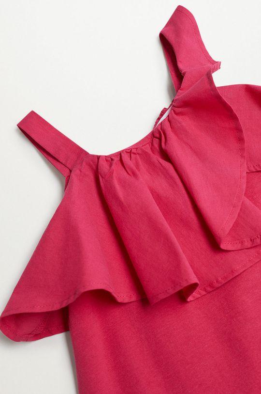Mango Kids - Sukienka dziecięca Libra-I 110-164 cm 100 % Bawełna