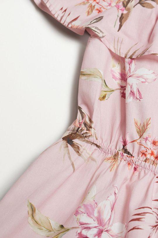 Mango Kids - Sukienka dziecięca Dressy 116-164 cm 100 % Bawełna