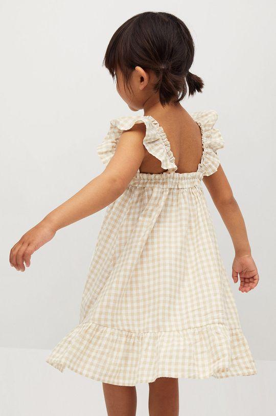 Mango Kids - Sukienka dziecięca Ani 80-110 cm 100 % Bawełna