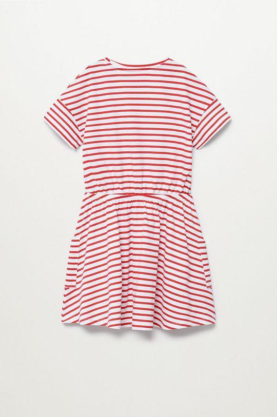 Mango Kids - Sukienka dziecięca Vanesa 110-164 cm biały
