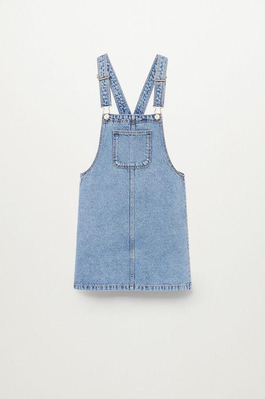fioletowy Mango Kids - Sukienka dziecięca Paula 110-164 cm Dziewczęcy