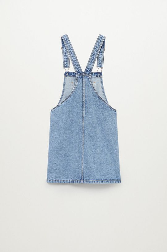 Mango Kids - Sukienka dziecięca Paula 110-164 cm fioletowy