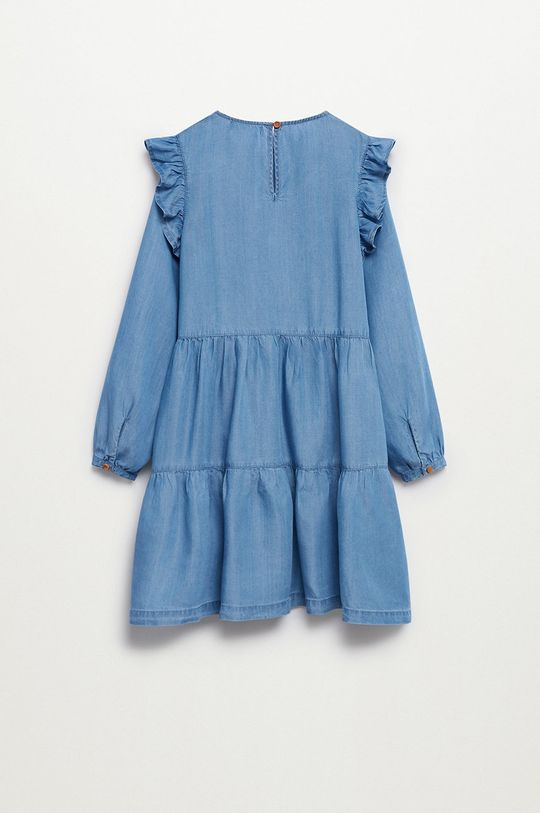 Mango Kids - Sukienka dziecięca Cara 110-164 cm 100 % Lyocell