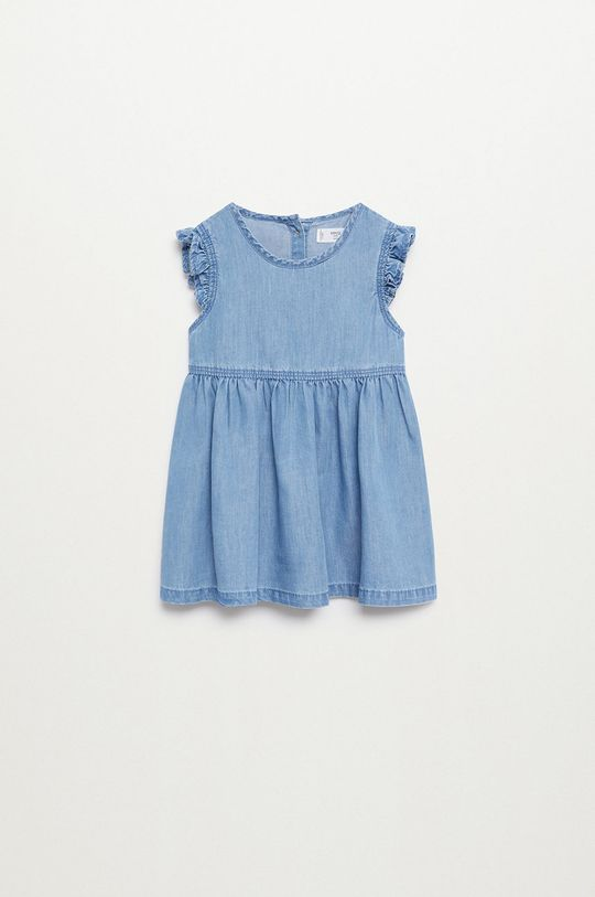 fioletowy Mango Kids - Sukienka dziecięca Marta 80-110 cm Dziewczęcy