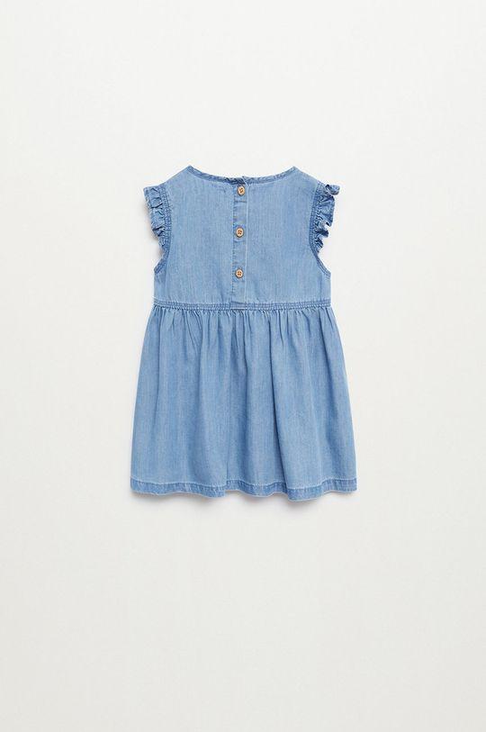 Mango Kids - Dievčenské šaty Marta 80-110 cm fialová