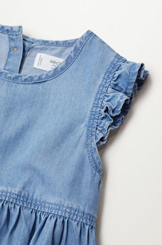 Mango Kids - Dievčenské šaty Marta 80-110 cm  65% Bavlna, 35% Lyocell